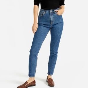 Everlane High Rise Ankle Skinny Jeans